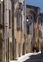 Fichues façades à Sumène - Gard