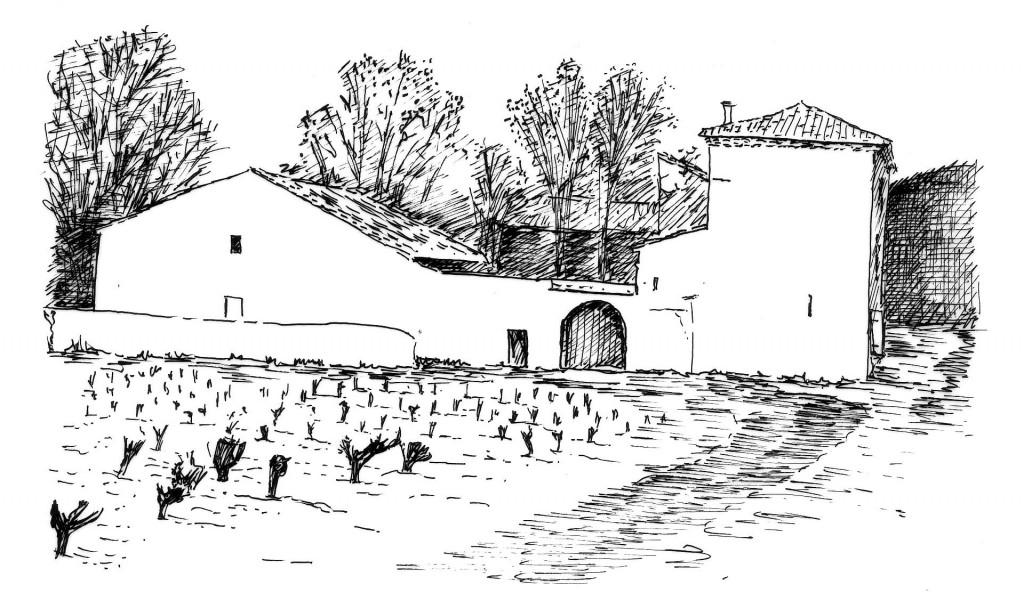 Le mas viticole 1